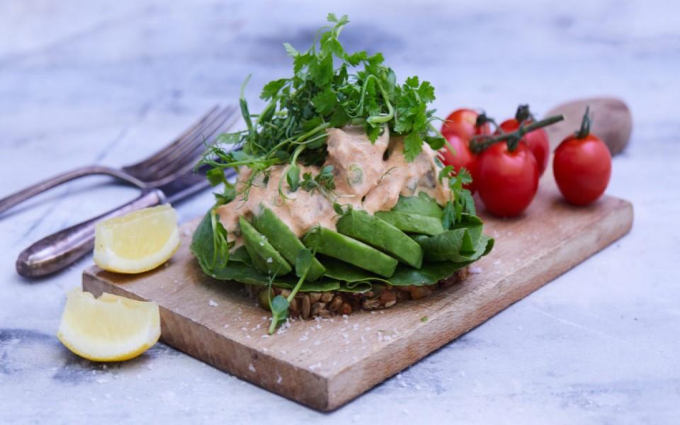 Tunsalat med Glyngøre tun